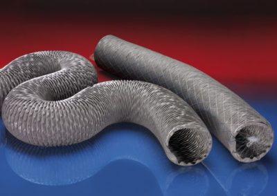 Gaine flexible enduit PVC haute température PVC 371 HT