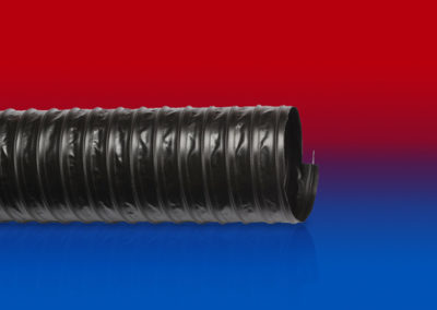 Gaine flexible tissu enduit PVC antistatique PVC 371 AS